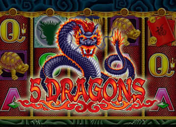 5 Dragon Slot Machine